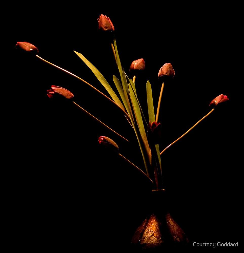 still life - vase by Courtney Goddard