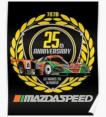 Mazda 787B Poster