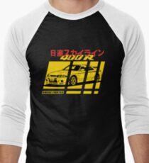 Nissan Skyline R33 400R Nismo Men's Baseball ¾ T-Shirt