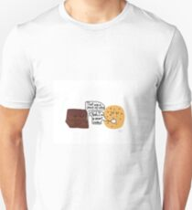 Piece of cake, smart cookie T-Shirt