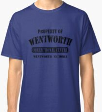Property of Wentworth Prison Classic T-Shirt