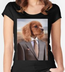 My Boss and Best Friend Women's Fitted Scoop T-Shirt