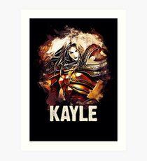League of Legends KAYLE Art Print