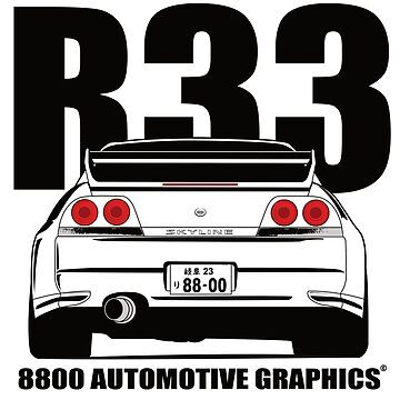 Nissan Skyline R33 Transparent Version by 8800ag