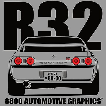 Nissan R32 Skyline GTR Transparent Version by 8800ag