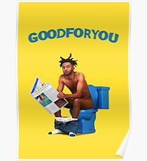 Amine - Good For You | Album Poster Poster