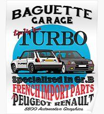 Baguette Garage Poster