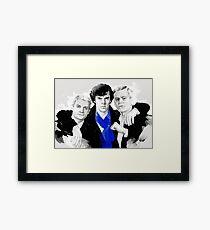 Believers (Sherlock BBC) Framed Print