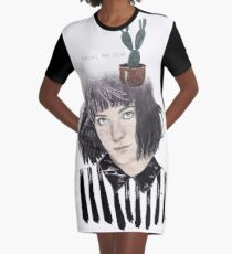 CLICK OUT Graphic T-Shirt Dress