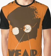 Steampunk - Wear Your Goggles! Safety Poster Graphic T-Shirt