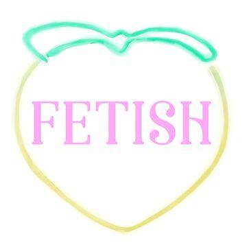 Selena Gomez - Fetish Peach (Neon) by artmoonist