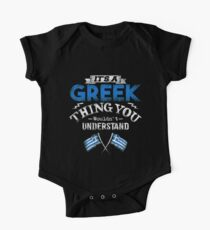 It's A Greek Thing You Wouldn't Understand One Piece - Short Sleeve
