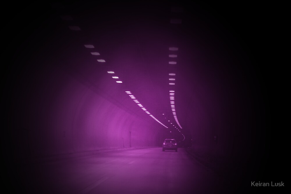 Foggy Tunnel Vision by Keiran Lusk
