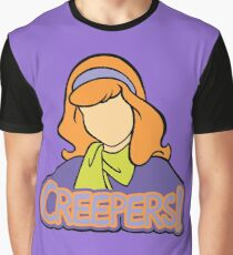 Creepers! - Daphne Scooby Doo Graphic T-Shirt