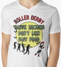 Roller Derby Zombies Fast Food Skate T-Shirt