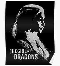 The Girl With the Dragons Poster