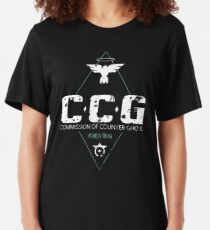 Commission of Counter Ghoul Slim Fit T-Shirt