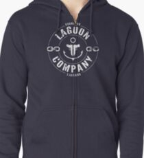 Lagoon Company Zipped Hoodie