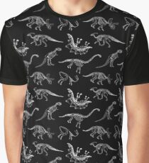Dinosaur Skeletons Graphic T-Shirt