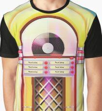 vintage Jukebox poser, Graphic T-Shirt
