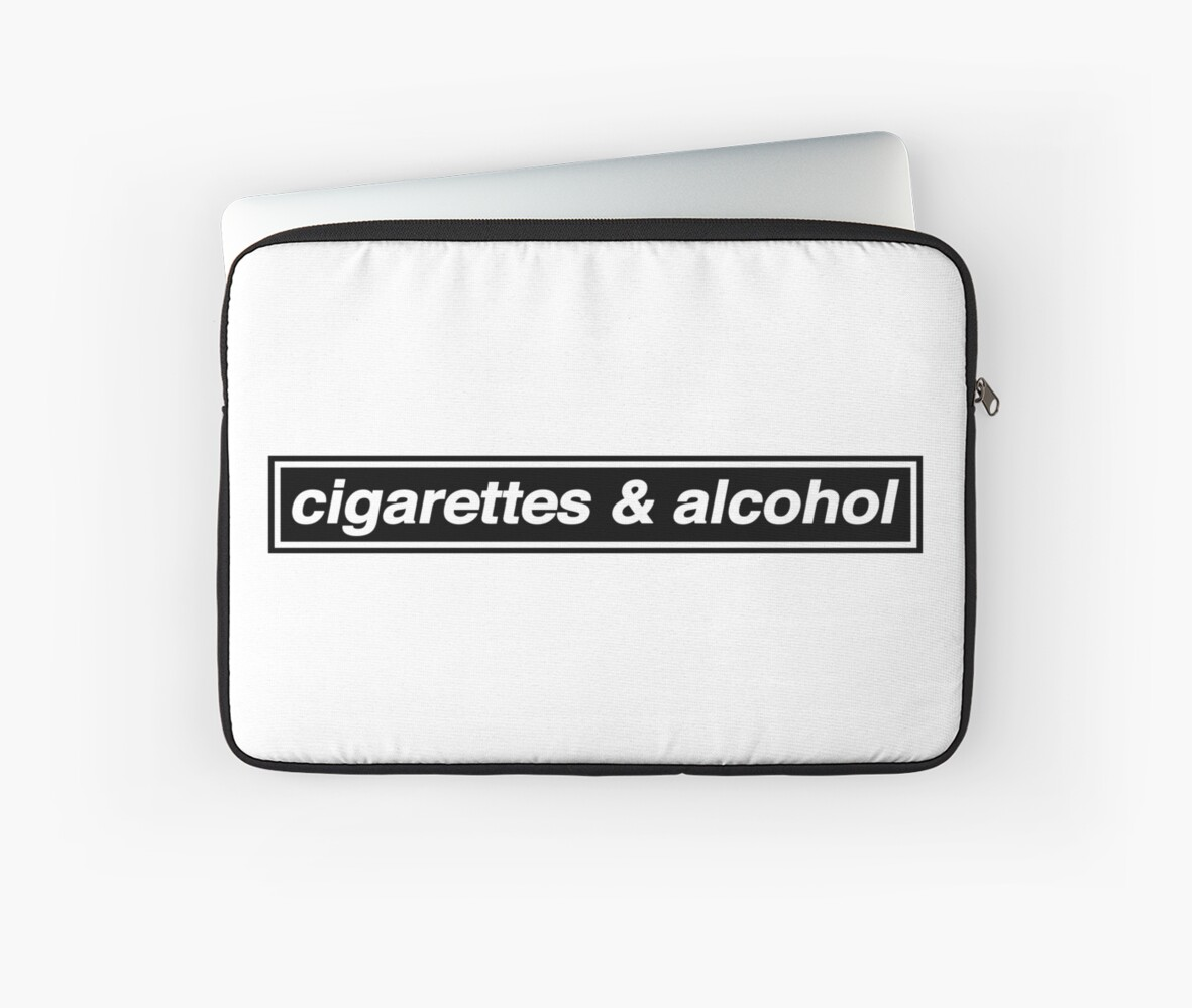 Cigarettes & Alcohol - OASIS Band Tribute by phigment-art