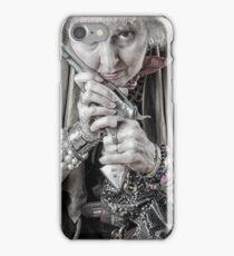 Granny With Her Gun  iPhone Case/Skin