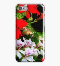hummingbird hawkemoth iPhone Case/Skin
