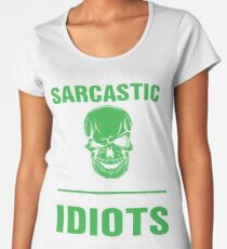 I wasn't Always This Sarcastic Women's Premium T-Shirt