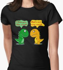 I Love You This Much Funny T-rex T-Shirt