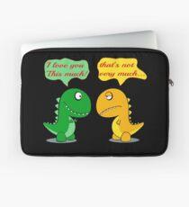 Ich liebe dich dieses viel lustige T-Rex Laptoptasche