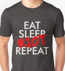 Eat Sleep RIOT Repeat T-Shirt