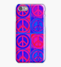 Psychedelic Peace Sign Mash Up iPhone Case/Skin