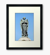 Colon Angel Warrior Framed Print