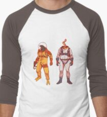 Earthworm Jim & Psycrow Men's Baseball ¾ T-Shirt