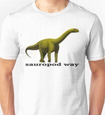 Sauropod way yellow T-Shirt