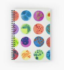 Petri Dishes  Spiral Notebook