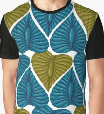 Vintage pattern with exotic plants Graphic T-Shirt