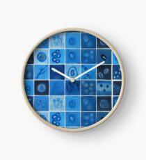 Blaues Virus Uhr