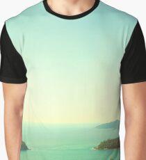 Ocean landscape Graphic T-Shirt