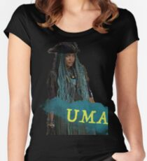 Uma - Descendants 2 Women's Fitted Scoop T-Shirt