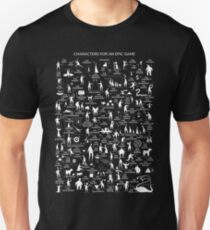 Boardgame Tabletop Geek T-Shirt T-Shirt