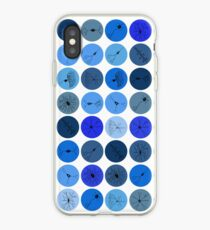 Blue Neuron Dots  iPhone Case