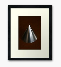 Conical Mirror Framed Print