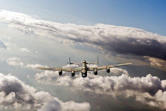 Lancaster sunlit by Gary Eason