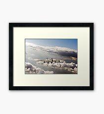Lancaster sunlit Framed Print