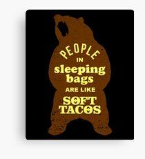 Soft Tacos Canvas Print