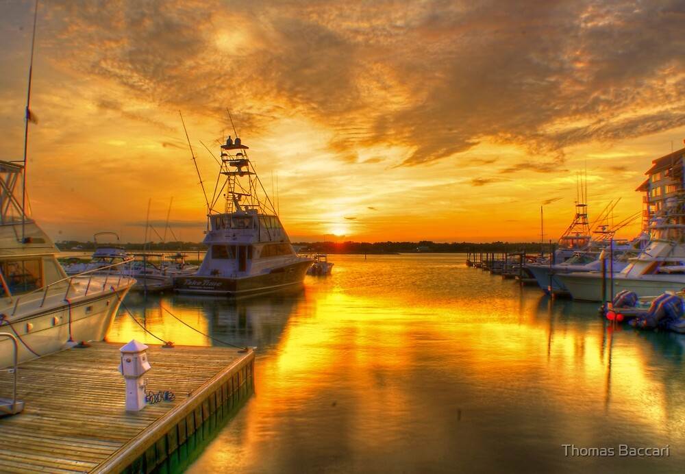 Last Nights Sunset by TJ Baccari Photography