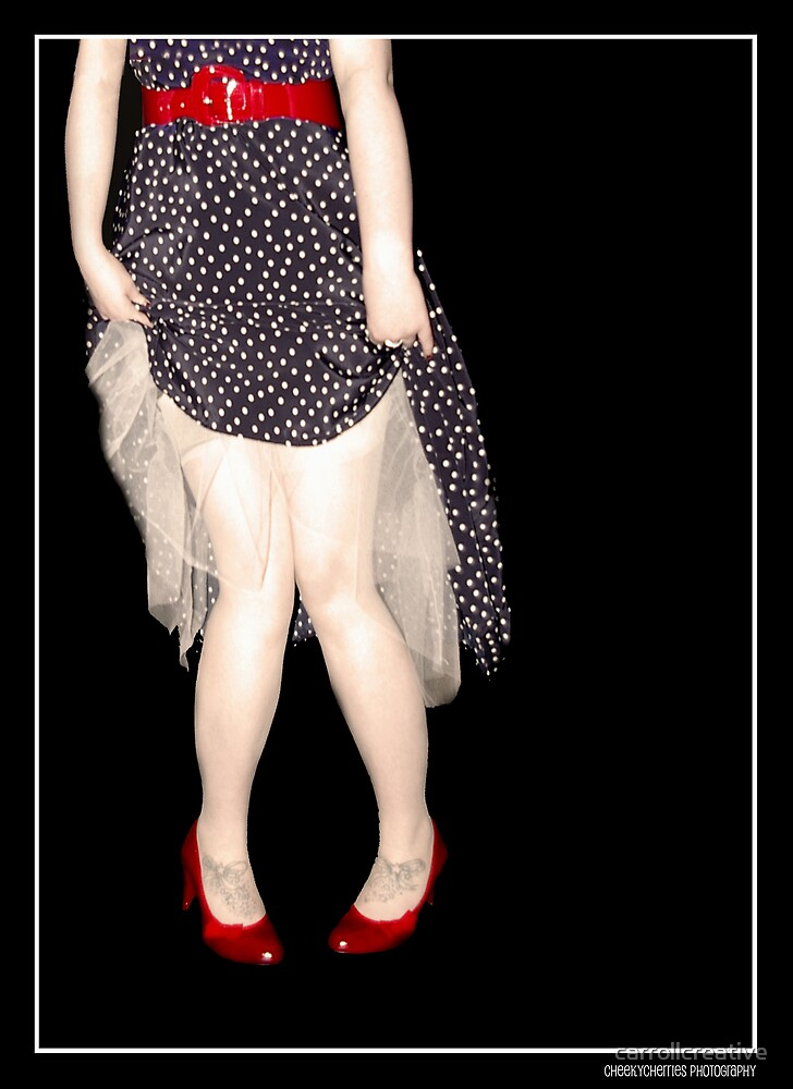 Pretty Red Shoes by carrollcreative