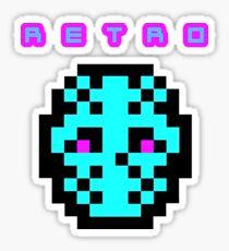 Retro I Sticker