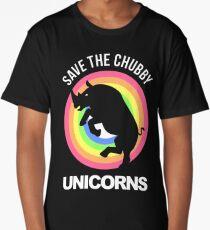 Chubby Unicorn - Rhinoceros Long T-Shirt
